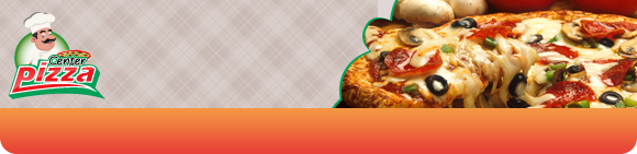 Center Pizza  Bundbanner